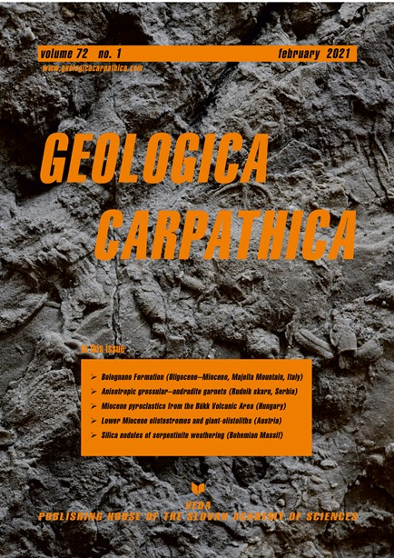 Geologica Carpathica cover