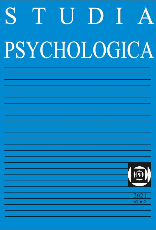 View Vol. 63 No. 2 (2021): Individual and social predictors of irrational behavior and beliefs